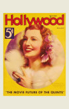 MacDonald, Jeanette - Hollywood Magazine Cover 1930&#39;s Masterprint