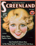 Joan Blondell - ScreenlandMagazineCover1930&#39;s Masterprint