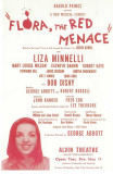 Flora the Red Menace - Broadway Poster , 1965 Masterprint