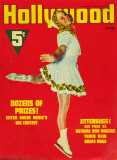 Sonja Henie - Hollywood Magazine Cover 1940's Reproduction image originale