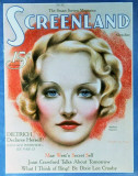Marlene Dietrich - ScreenlandMagazineCover1930's Masterprint