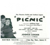 Picnic - Broadway Poster , 1953 Masterprint
