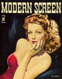 Ann Sheridan - Modern Screen Magazine Cover 1930's Masterprint
