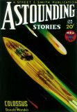 Astounding Stories - Pulp Poster, 1931 Masterprint