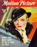 Constance Bennett - MotionPictureMagazineCover1930&#39;s Masterprint