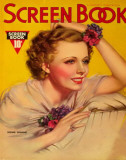 Irene Dunne - Screen Book Magazine Cover 1930's Masterprint