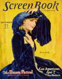 Greta Garbo - Screen Book Magazine Cover 1930's Reproduction image originale