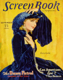 Greta Garbo - Screen Book Magazine Cover 1930's Masterprint