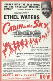 Cabin In The Sky - Broadway Poster , 1941 Masterprint