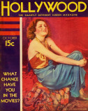 Billie Dove - Hollywood Magazine Cover 1940's Masterprint