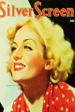Carole Lombard - Modern Screen Magazine Cover 1930's Masterprint