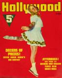 Sonja Henie - HollywoodMagazineCover1940's Reproduction image originale