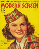 Deanna Durbin - ModernScreenMagazineCover1940's Masterprint