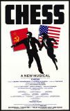Chess - Broadway Poster , 1988 Masterprint
