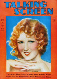 Anita Page - Talking Screen Magazine Cover 1930&#39;s Masterprint