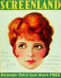 Clara Bow - Screenland Magazine Cover 1930's Masterprint