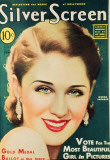 Norma Shearer - Silver Screen Magazine Cover 1930's Masterprint