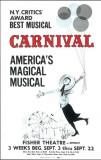 Carnival - Broadway Poster , 1961 Masterprint