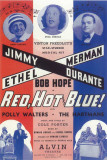 Red, Hot And Blue - Broadway Poster , 1936 Masterprint