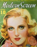 Jean Arthur - Modern Screen Magazine Cover 1940's Masterprint