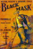 Black Mask - Pulp Poster, 1927 Masterprint