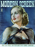 Carole Lombard - Modern Screen Magazine Cover 1940's Masterprint