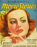 Joan Crawford - Romantic Movie Stories Magazine Cover 1930's Masterprint