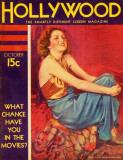 Billie Dove - Hollywood Magazine Cover 1930's Masterprint