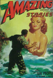 Amazing Stories - Pulp Poster, 1935 Masterprint