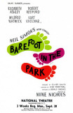 Barefoot in the Park - Broadway Poster , 1963 Lmina maestra