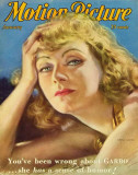 Greta Garbo - MotionPictureMagazineCover1930's Photo