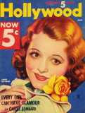 Janet Gaynor - Hollywood Magazine Cover 1930's Lámina maestra