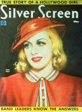Ginger Rogers - Silver Screen Magazine Cover 1930's Masterprint