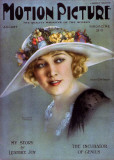 Anna Q. Nilsson - Motion Picture Magazine Cover 1930's Photo