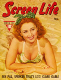 Joan Blondell - Screen Life Magazine Cover 1930's Masterprint