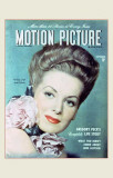 Maureen O'Hara - Motion Picture Magazine Cover 1940's Masterprint