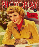 Claudette Colbert - Photoplay Magazine Cover 1930's Masterprint