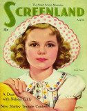 Temple, Shirley - Screenland Magazine Cover 1930&#39;s Masterprint