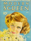 Hepburn, Katharine - Modern Screen Magazine Cover 1930's Masterprint