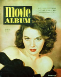Susan Hayward - Movie Album Magazine Cover 1940's Masterprint