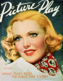 Jean Arthur - Picture-PlayMagazineCover1920's Masterprint