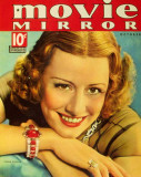 Irene Dunne - Movie Mirror Magazine Cover 1930's Masterprint