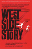 West Side Story - Broadway Poster Lámina maestra