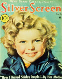 Temple, Shirley - Silver Screen Magazine Cover 1940's Masterprint