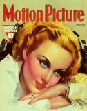Carole Lombard - MotionPictureMagazineCover1930's Photo
