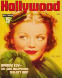 Simone Simon - Hollywood Magazine Cover 1940&#39;s Masterprint