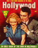 Bette Davis - Hollywood Screen Life Magazine Cover 1930's Masterprint