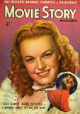 June Haver - Movie Story Magazine Cover 1940's Masterdruck