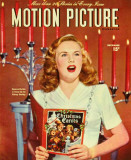 Deanna Durbin - Motion Picture Magazine Cover 1930&#39;s Masterprint