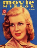 Ginger Rogers - MovieMirrorMagazineCover1930's Masterprint